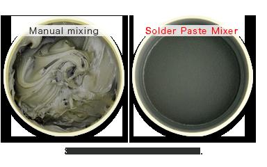 Máy trộn mẫu kem hàn không tạo bọt